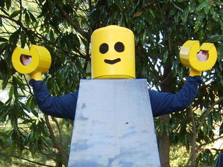 Wawerko | LEGO-Mann Kostüm für Fasching - Anleitungen zum Selbermachen - Verkleidung, verkleidungskiste