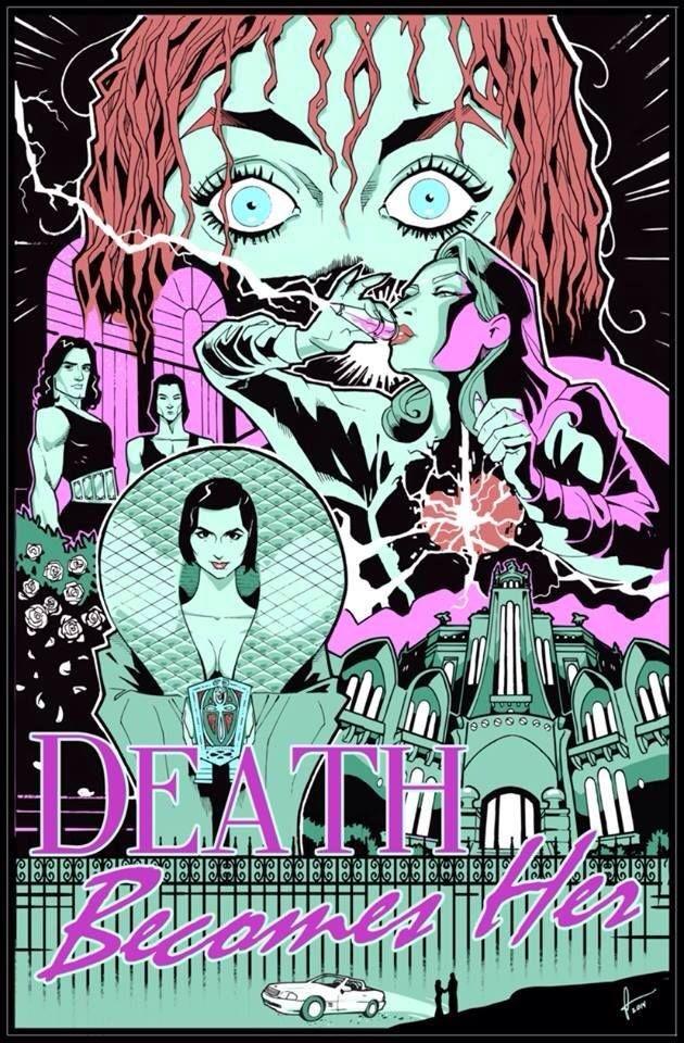 Death Becomes Her (1992). #funmovie #MerylStreep #GoldieHawn