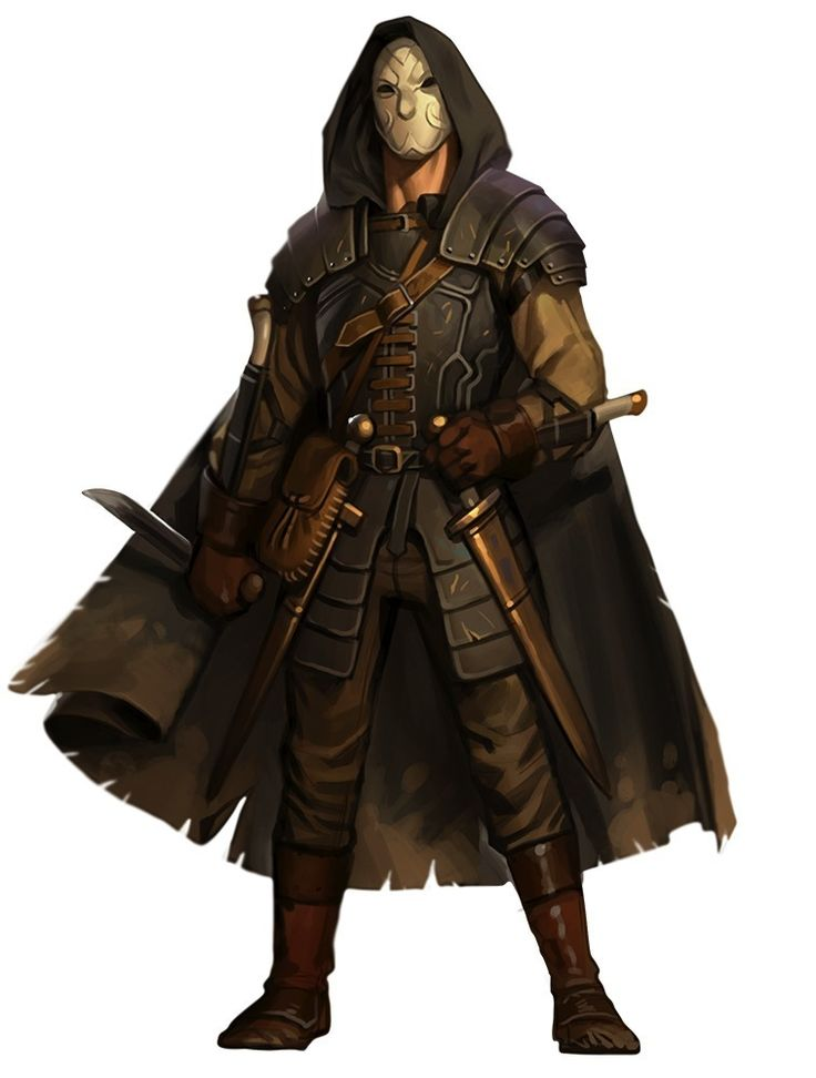 Pathfinder Rogue : The Masked