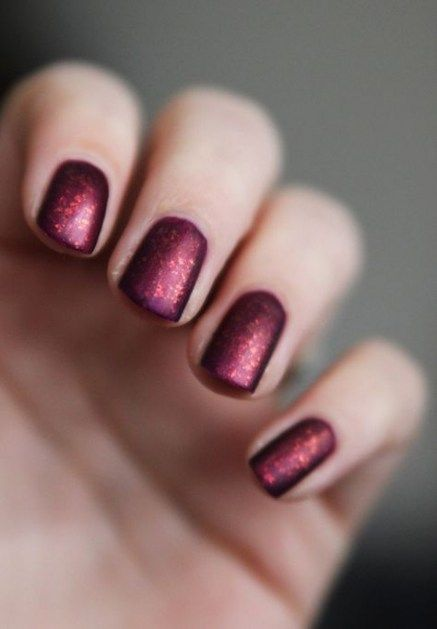 20+ Ideas Nails Burgundy Glitter Holidays For 2019 – #burgundy #glitter #holiday… – autumn nails