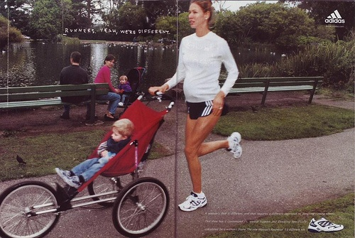 http://pregdiets.com/running-while-pregnant.html Good article on whether running while pregnant is a good idea or not. It basically says that running is ok while pregnant as long as you don't overheat or dehydrate yourself. baby-800
