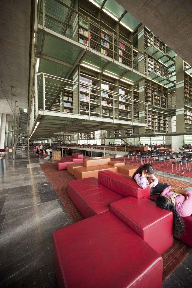 Galería de Biblioteca Jose Vasconcelos / Alberto Kalach - 15