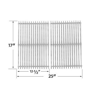 Grillpartszone- Grill Parts Store Canada - Get BBQ Parts,Grill Parts Canada: Grill Chef Cooking Grid | Replacement 2 Pack Stain...
