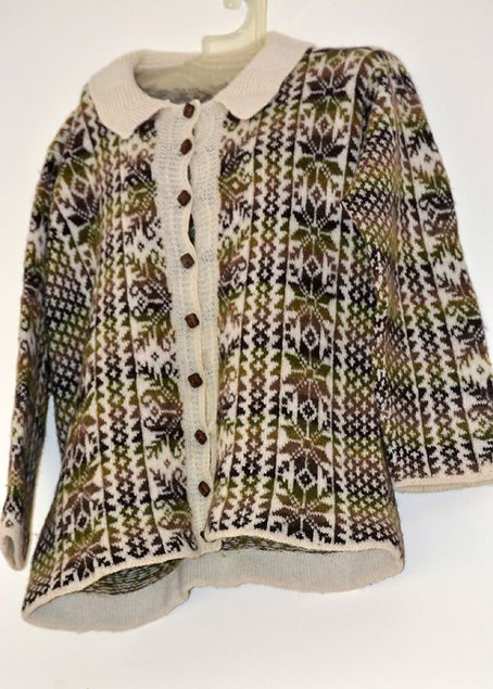 Tangwick Haa Museum, on Northmavine, Shetland. The exhibition at the Museum for 2015, was 'The Way We Did It.' Beautiful fair isle knitwear. Great visit.