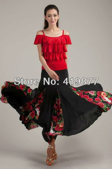 Flamenco skirt and top