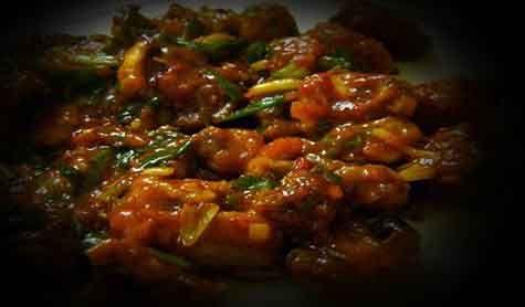 Mushroom Manchurian Recipes in Hindi