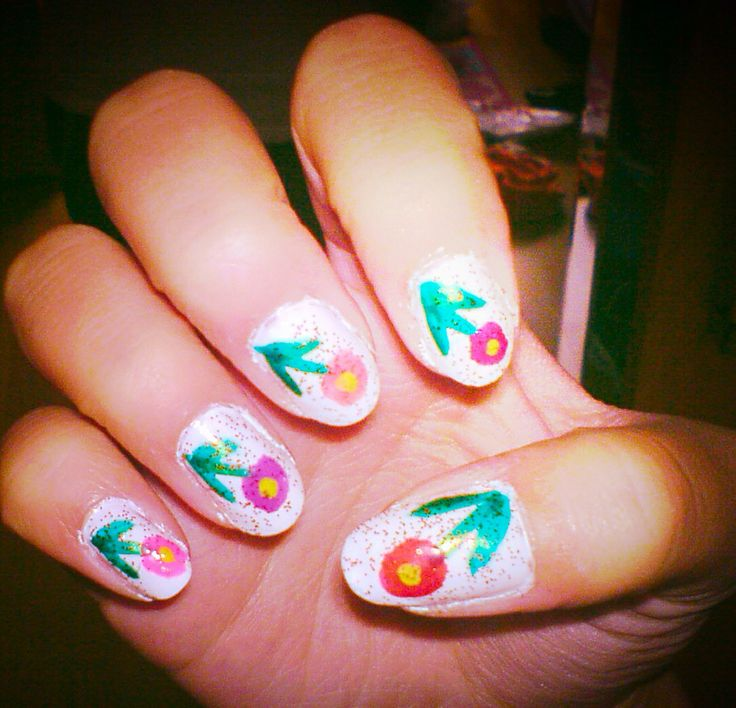 Flower nails :)