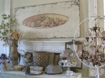 25+ best Shabby Chic Mantle ideas on Pinterest
