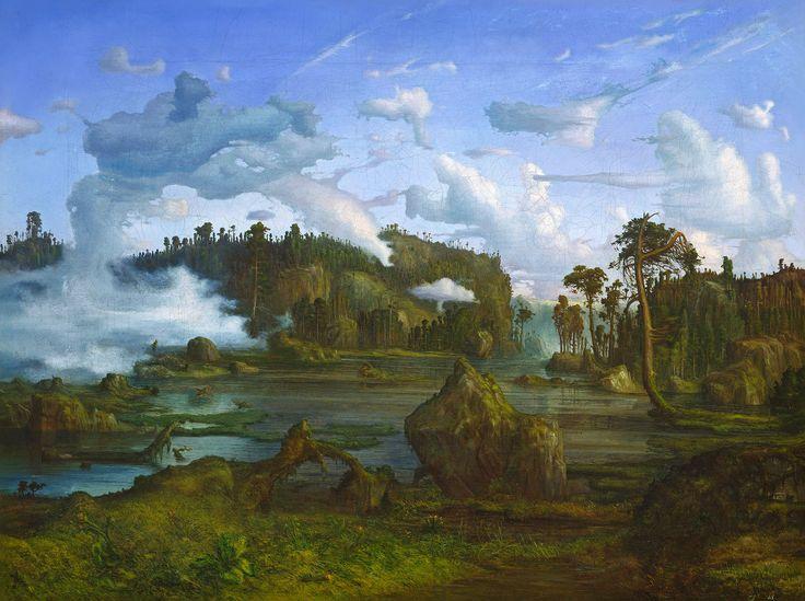 Lars Hertervig, «The Tarn»
