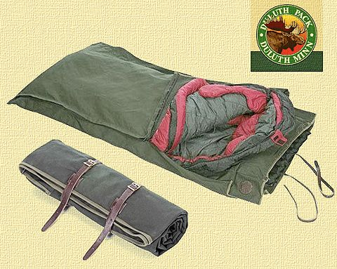 Duluth Pack bedroll