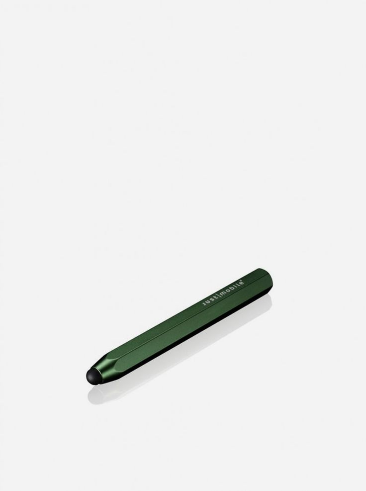 This Chunky pencil-shaped stylus with alumunium sculpture and a soft rubber nip give you precise control and smooth experience working with your iPad, iPhone, and iPod Touch.
