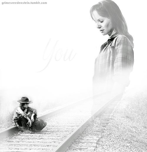 Carl grimes and Lori Grimes