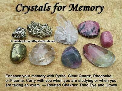 Ceystals for memory