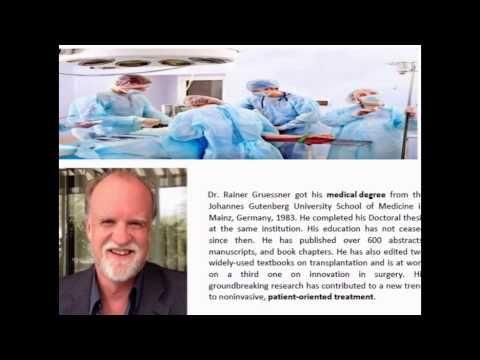 Dr. Rainer Gruessner Professional Career
