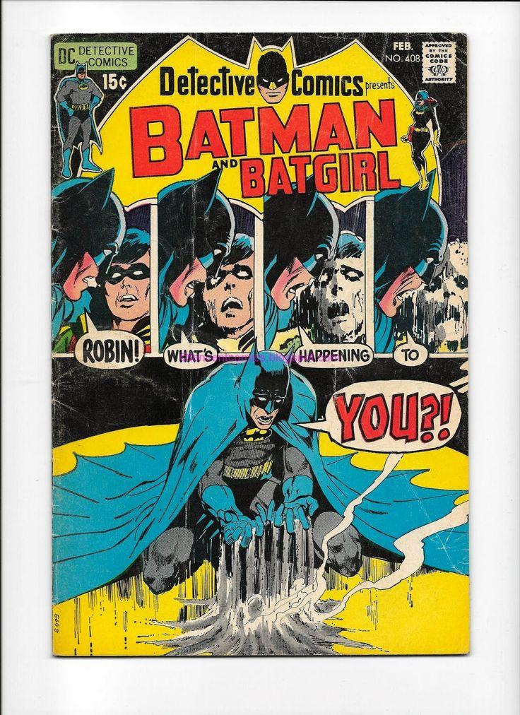 Comic Books For Sale: Detective Comics Batman and Batgirl 408