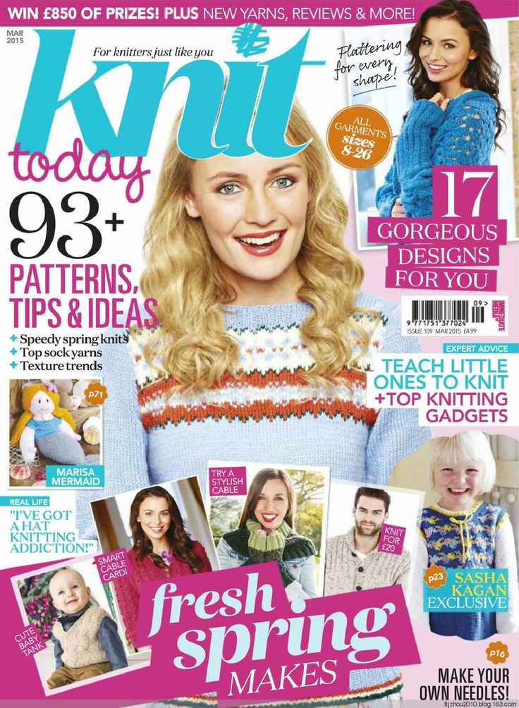 Knit Today Issue 109 2014