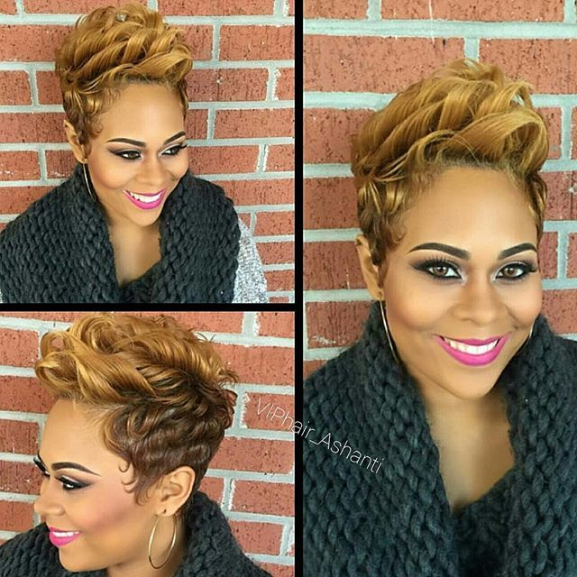 5 Top Tips For Maintaining Blonde Hair: 1000+ Ideas About Short Black Hairstyles On Pinterest