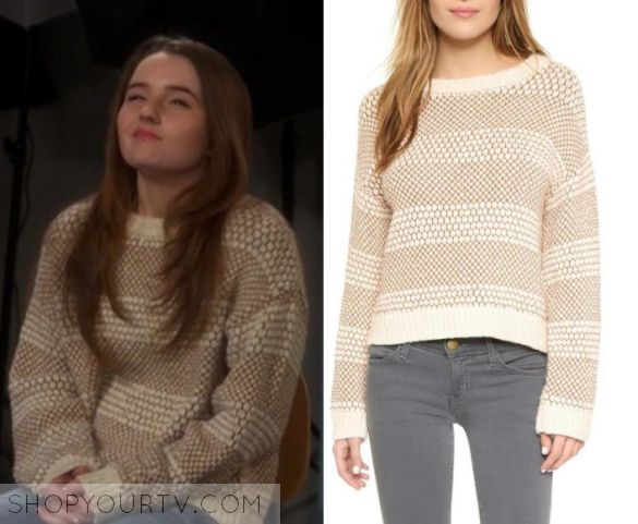 """Last Man Standing: Season 6 Episode 19 Eve's Honeycomb Print sweater 