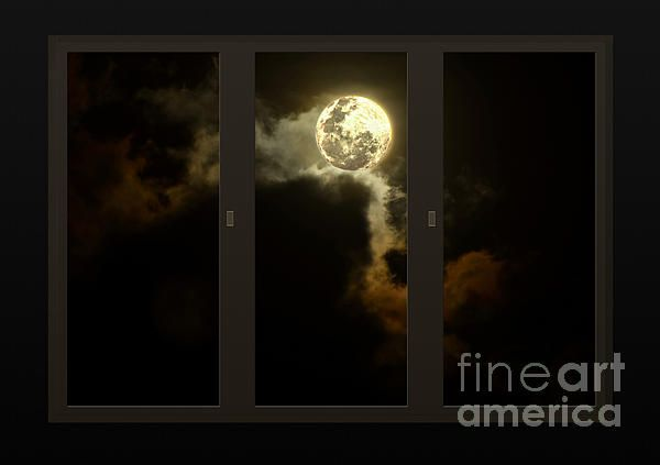 #MOON FROM MY #LIVING #ROOM by #Kaye #Menner #Photography Quality Prints Cards and more at: http://kaye-menner.artistwebsites.com/featured/moon-from-my-living-room-kaye-menner.html