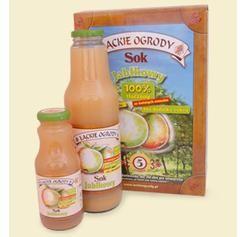 Sok Łąckie Ogrody jabłkowy 300ml (Tłocznia Maurer)