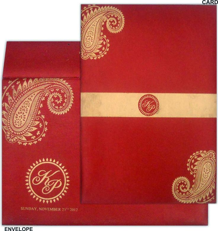 12 best Indian Wedding Cards images on Pinterest | Indian bridal ...