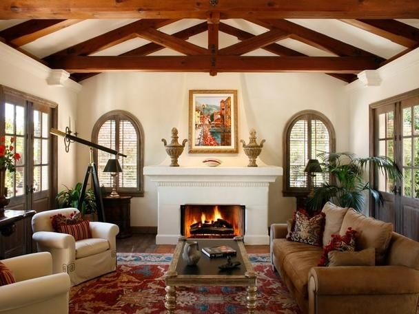 17 best images about santa barbara mediterranean style for Spanish villa interior design