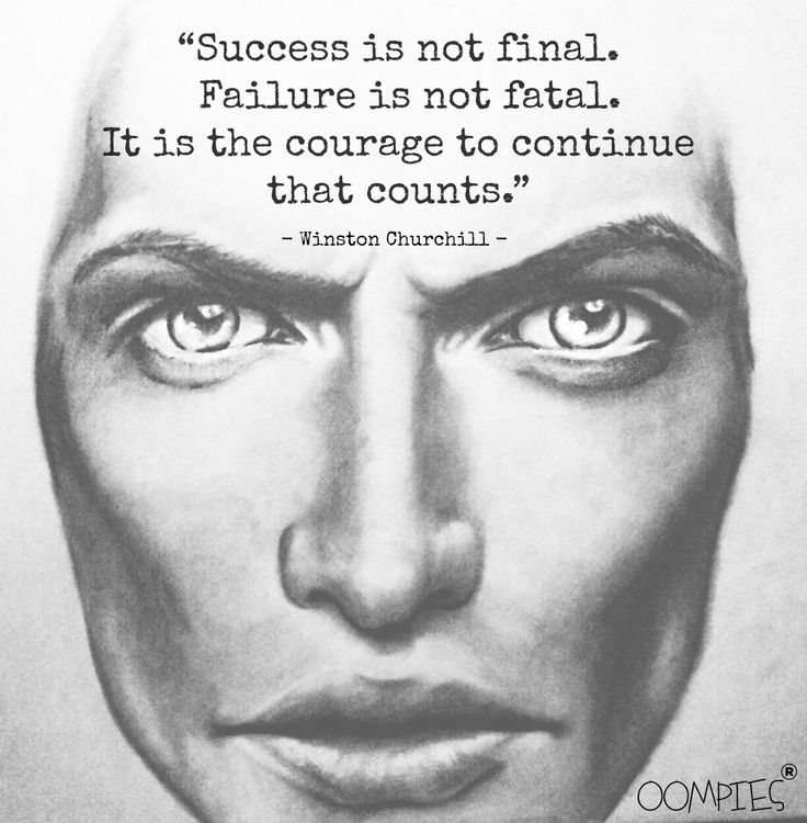 """""""Succes is not final. Failure is not fatal. It is the courage to continue that counts.""""  - Winston Churchill -    #OOMPIES #MONDAYMESSAGE"""
