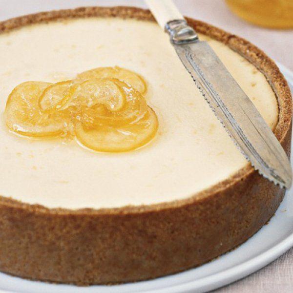 Αυθεντικό αμερικάνικο ψημένο cheesecake
