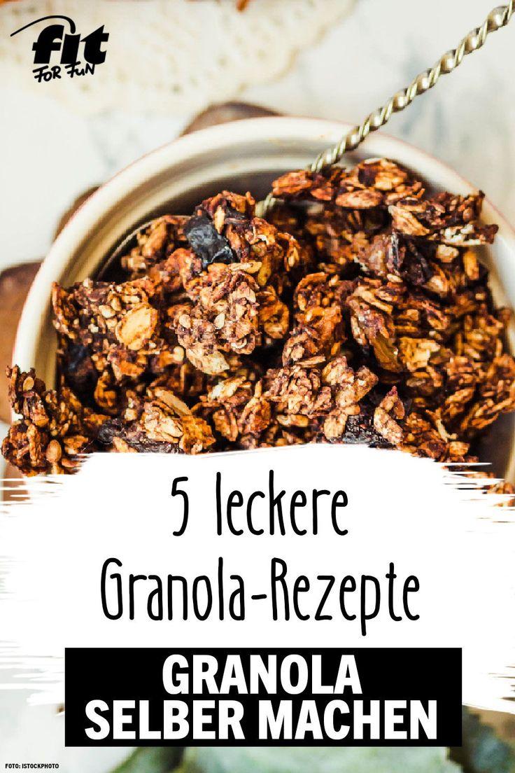 Granola selber machen: Leckeres Knuspermüsli