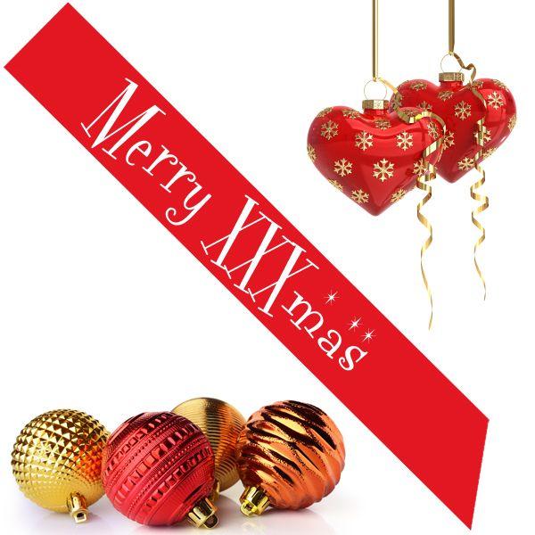 Merry XXXmas Sash