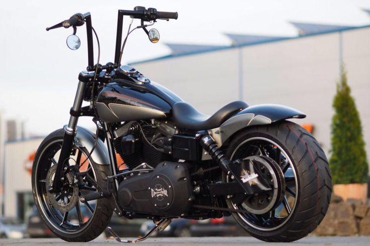 2016 Harley Davidson Fxdb Custom Dyna Street Bob: Dyna Street Bob Custom Fat Tyre