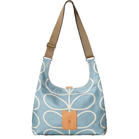 This Sky Blue Orla Kiely Midi Sling Bag is perfect for the approaching Spring season, and certainly says 'I Love You' to any well-deserving Mum out there!   Cadeaux - Cadeaux.ie