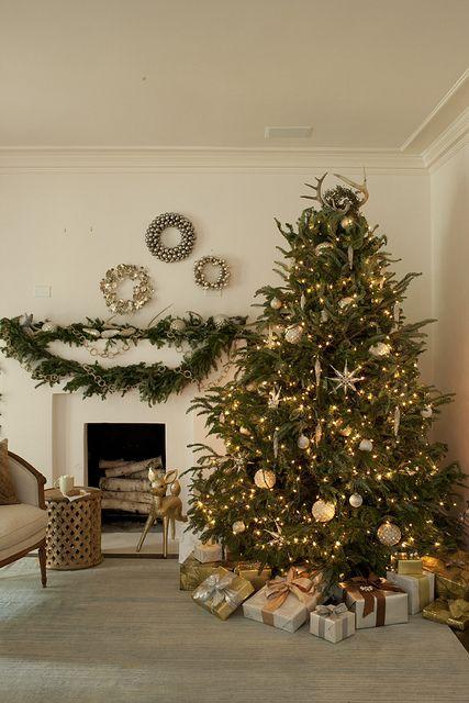 White Christmas perfection via Simply Seleta
