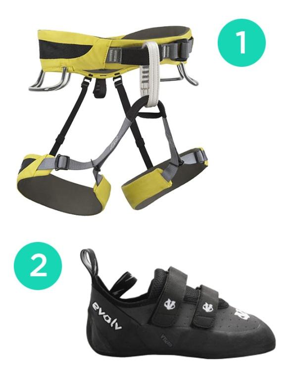 rock climbing gear by - photo #33