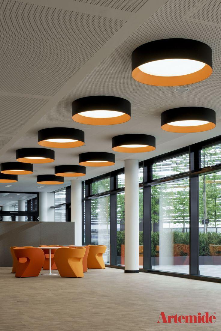 Illuminierung des #Vodafone Campus #Architekturleuchten #Designleuchten #Duesseldorf #Tagora #Artemide
