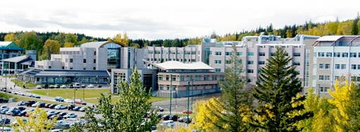 University of Northern British Columbia located in Prince George, Canada