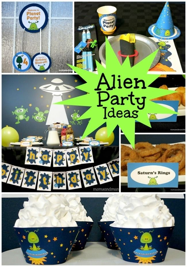 Alien Birthday Party Ideas www.spaceshipsandlaserbeams.com