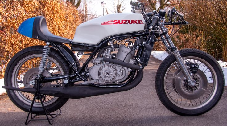 """This <a href=""""https://www.bonhams.com/auctions/22727/lot/175/"""">1973 Suzuki TR500 (XR05) Racer</a>, Lot 175 at Bonhams Autumn Stafford Sale (18-Oct-15) is estimated to sell for between £27,000 and 30,000 ($41,000 and $46,000)"""