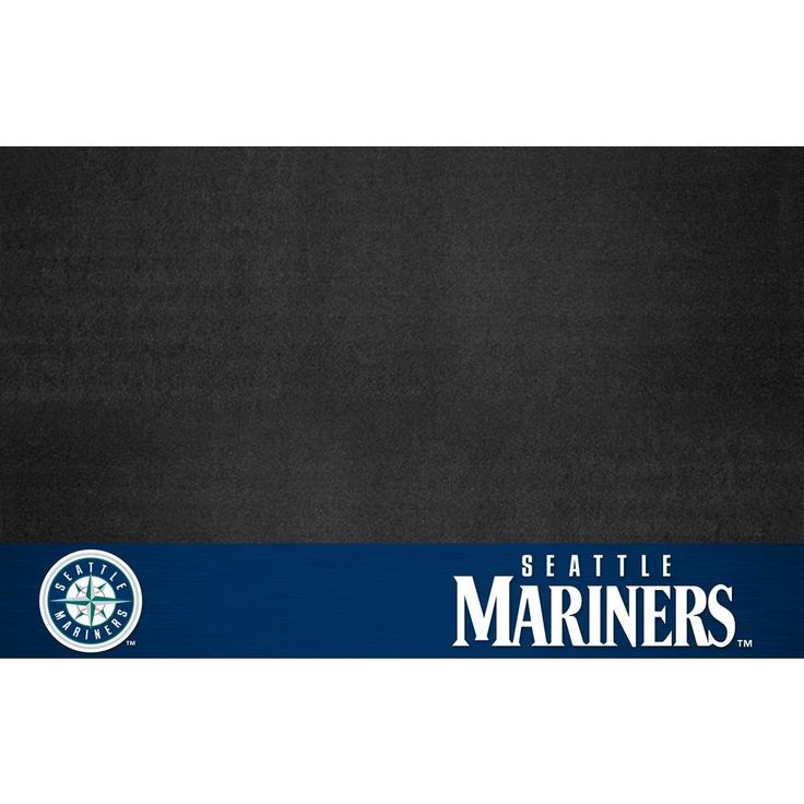 Seattle Mariners 26 in. x 42 in. Grill Mat, Multi