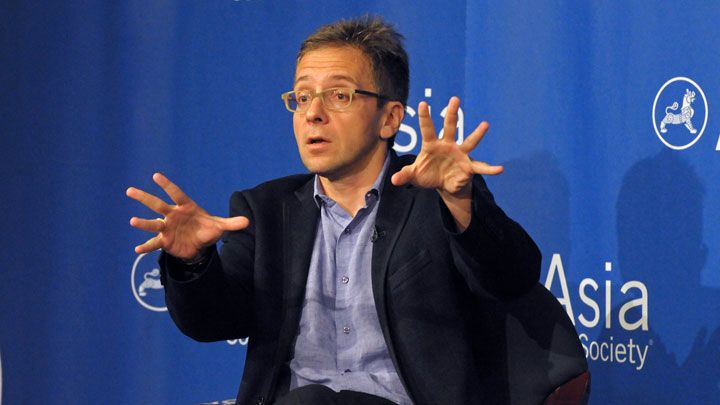 Ian Bremmer talk at Asia Society