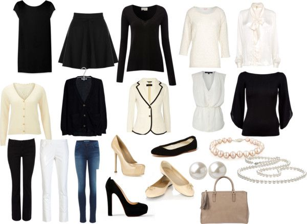 """the french capsule wardrobe"" by tullewhimsy on Polyvore"