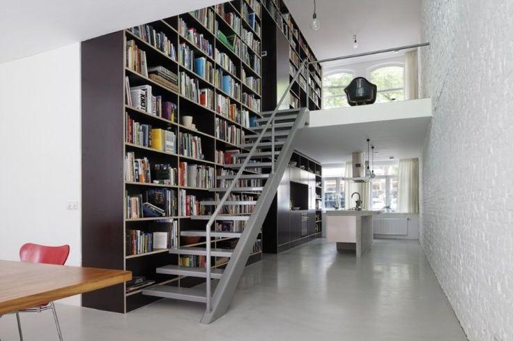 wall to wall book shelf