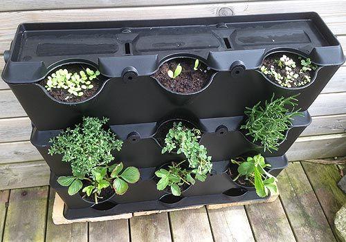 Minihavevægge er gode til din lille have - Minihavevæg fra Minigarden Danmark