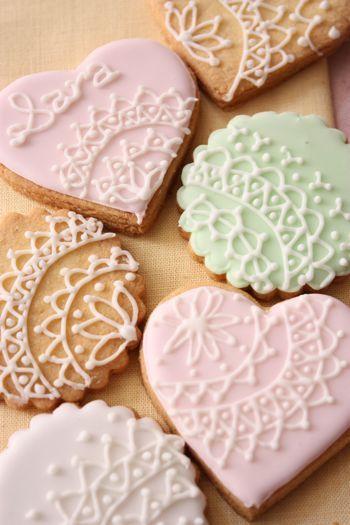 Italia  美味しい日々 : アイシングクッキー