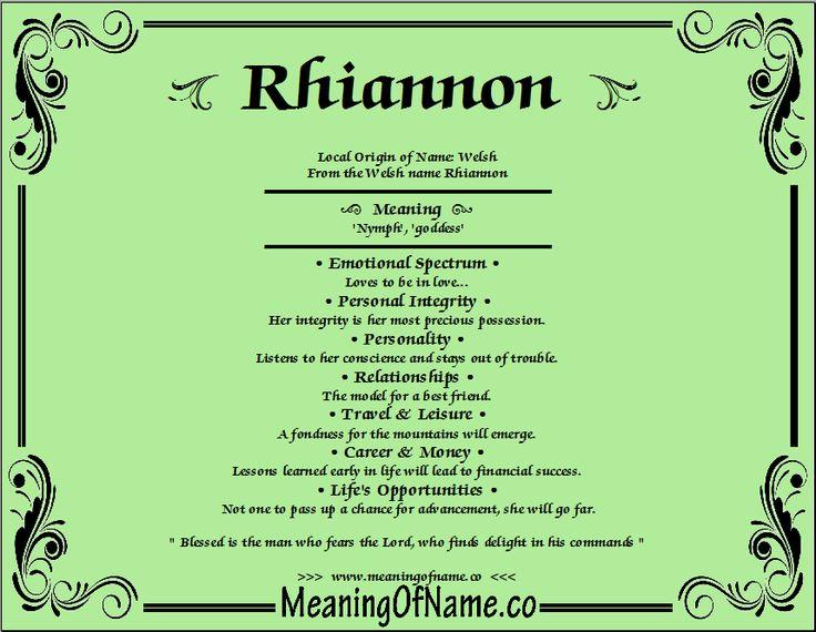 243 Best Rhiannon Images On Pinterest