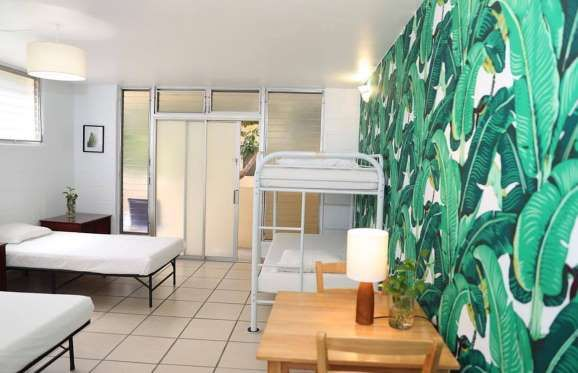 Waikiki Beachside Hostel – Honolulu, Hawaii Waikiki Beachside Hostel is ideally situated steps away from Waikiki Beach and close to restaurants, nightlife, and shopping. The hostel's dorm rates start at $34.22 per person.