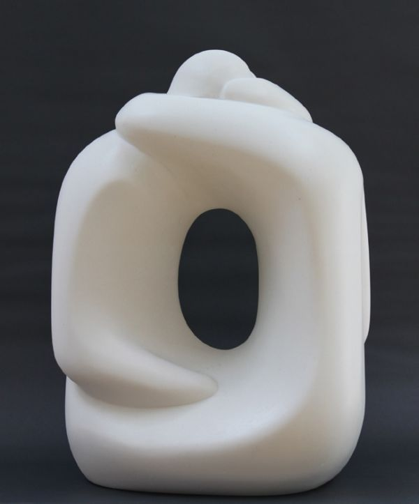 A sculpture titled 'White Hugging Couple XX' by artist Marko Humphrey-Lahti in the category Garden Or Yard / Outside and Outdoor Sculptures. This sculpture has the dimensions of 37 x 20 x 17 cm, the sculpture is sculpted from a medium of 'marble resin'. It is available to buy.White Hugging Couple XX is a limited edition of 30 sculptures cast in Bronze, Marble or Bronze resin.