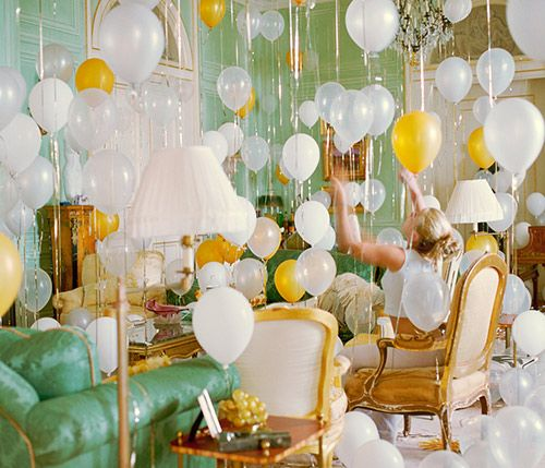 Balloons, balloons... everywhere!: Party Time, Birthday, Party'S, Parties, Wedding, Bridal Shower, Balloons, Party Ideas, Room