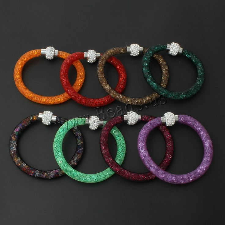2016 Beautiful Design Wristband Multicolor Clay Crystal Magnetic Clasp Mesh Bracelet with Women Charm Bangles Bracelet #electronicsprojects #electronicsdiy #electronicsgadgets #electronicsdisplay #electronicscircuit #electronicsengineering #electronicsdesign #electronicsorganization #electronicsworkbench #electronicsfor men #electronicshacks #electronicaelectronics #electronicsworkshop #appleelectronics #coolelectronics