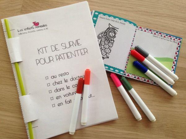 Do It Yourself : Voici un petit carnet de coloriages à télécharger gratuitement et à fabriquer avec les enfants